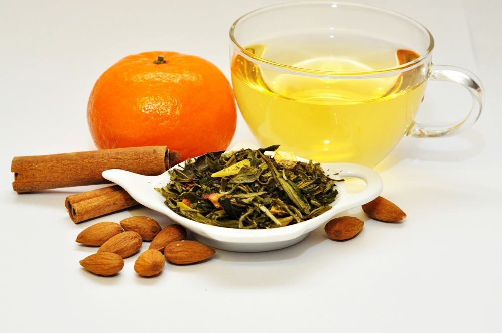 orange spice white tea